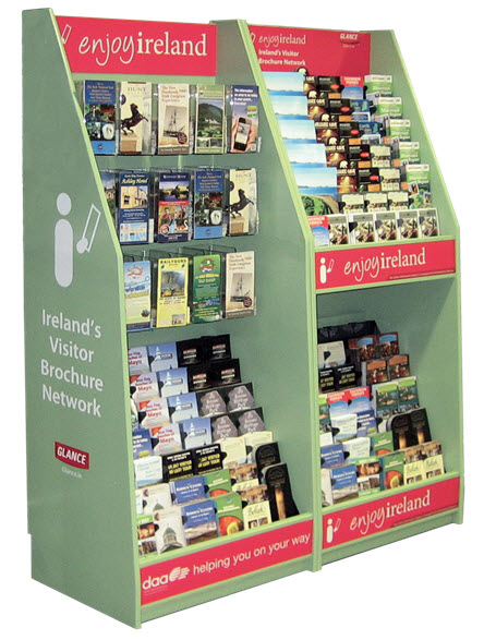 The Brochure Vision Stand at Dublin Airport